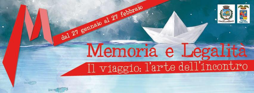 Memoria e Legalità - calendario manifestazione 2017
